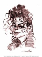 Michael Jackson sketch by nelsonsantos