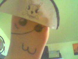 Pirate Foot With a Hat by Nammi