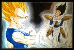 Prince Vegeta by IntriguingBeast