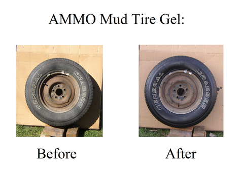 AMMO Mud Tire Gel - Before and After by BarryFromMars