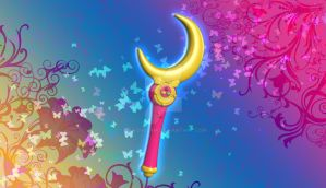 Sailor Moon: Moon Stick by silverbeam