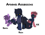 Meet The Arsenic Assassins by TheJesterArt