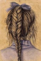Fishtail Braid by haloanime97