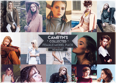 Camryn's Model Pack #2 by CrazyLies