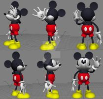 CGI Mickey: Ear Test by JIMENOPOLIX