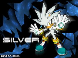 Silver Wallpaper by Mask16