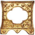 Golden  Frame Decorative 2 by 94r4d0x