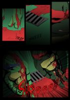 TMNT (fanmade) Same as it never was Aftershock _3 by FleshCreature