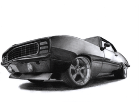 Chevrolet Camaro '67 by imprzz