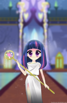 Princess Twilight Sparkle by framboosi