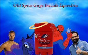 Cover for Old Spice Guy Story by spacecore2