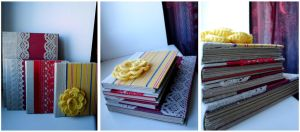 handmade books by darkest-red