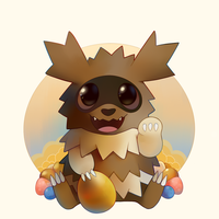 Lucky Zigzagoon by HappyCrumble