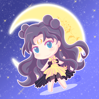 Luna -Sailor moon by konakon24