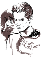 Teen Wolf FanArt:  Fox time by NinaKask