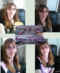 The artists new look! With my new glasses by Maddysu86