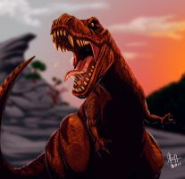 RAWR T REX by LaRhsReBirTh