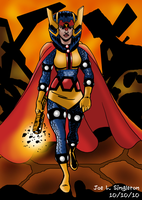 Big Barda -Warrior Woman by Joe-Singleton