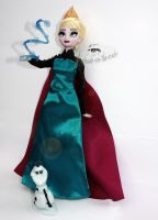 Disney Elsa Doll Repaint |Test the Limits.. by claude-on-the-road
