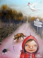 Little Red Riding Hood by Monica-Blatton