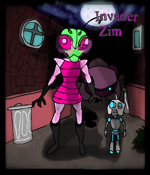 Invader Zim by monthgirl