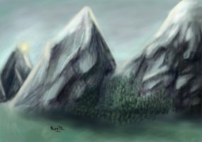 Mountains by puma290798