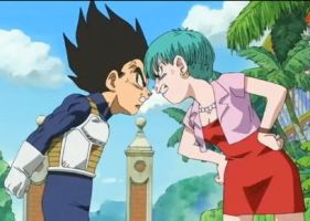 Vegeta and Bulma-  My soul by RawNinjaberry