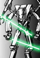 Unfinished Grevious. by AtomicWarpin