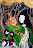 Hansel and Gretel by skillywidden