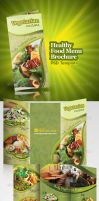 Healthy Food Menu Brochure by antyalias