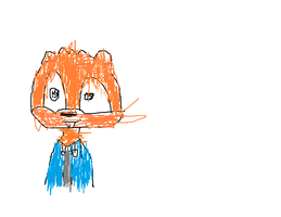 Conker on paint with  no tablet by EmmasVarietyArts