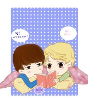 Learning Chinese with HunHan by KagomeHikari