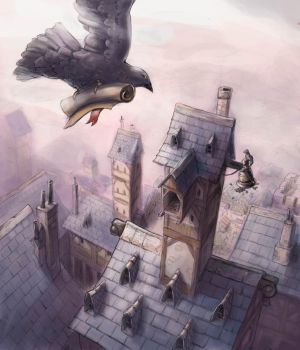 Pigeon Voyageur by zompf