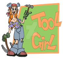 Tool Girl FINAL by DarylT