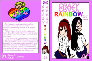 Crazy Crazy Rainbow by Denna