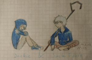 Jack Frost and Jackie by Tsukiko75014