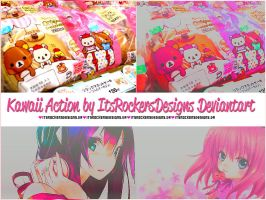 Kawaii Action by itsrockersdesigns