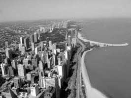 View on Chicago by Muffalopadus