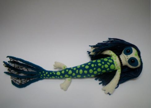 Mermaid Plush The Second by forlorn-faerie