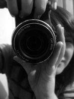 Me with my camera by Aroha-Photography