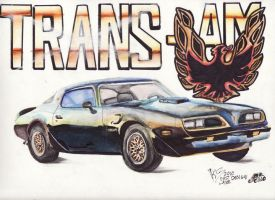 1978 Pontiac Trans AM by FastLaneIllustration