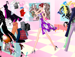 Go see - dress up game by willbeyou