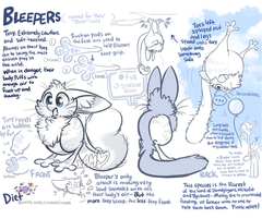 Bleepers - Open Species Guide by AdorkableMarina