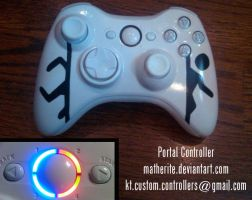 NEW Portal Xbox 360 Controller by matherite