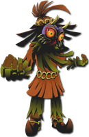Skull Kid by Obisam