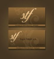 Stf  Business Card by ehlikeyif