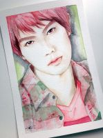 Lee JongHyun -- CNBlue fan art painting by antuyetlai