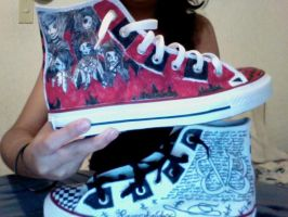 MY BVB Shoes-1 of 2 by XxAkatsukiLovexX