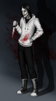 Jeff the killer by half-rose