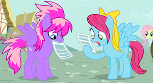 Starsong and Thistle Whistle by runawaymintyg3